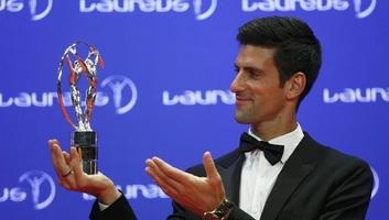 Novak Đoković 2018 legjobb férfi sportolója - illusztráció