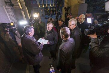 Székely szabadság napja: Székelyföld autonómiájáért tüntettek Marosvásárhelyen - A cikkhez tartozó kép