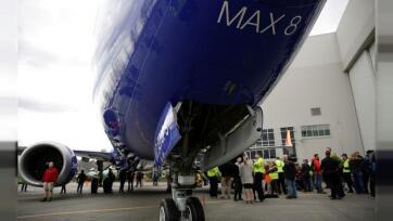 Tovább zuhant a Boeing árfolyama New Yorkban - A cikkhez tartozó kép