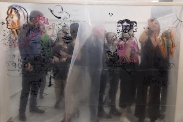 Zenta: Megnyílt a Bolyai képzőművészeti tagozatának érettségi kiállítása - A cikkhez tartozó kép