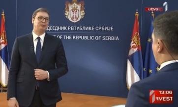 Vučić: Aggaszt, hogy nem érthetjük meg, mi történik Koszovóban - A cikkhez tartozó kép
