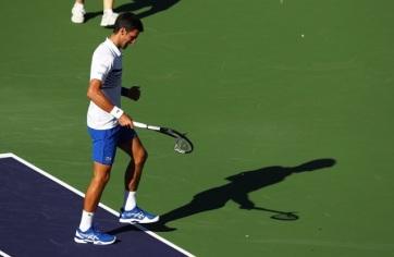 Tenisz: Đoković kiesett Indian Wellsben - A cikkhez tartozó kép