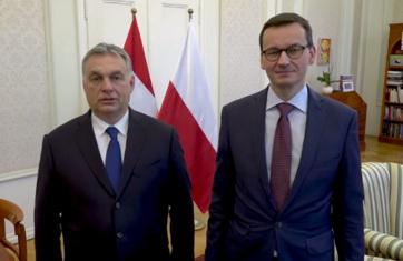 15. mart: Orban i Moravecki u zajedničkom videu pozivaju na proslavu - A cikkhez tartozó kép
