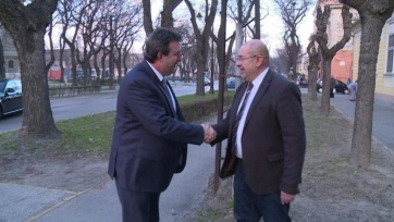Saobraćaj: Razgovori Palkovič–Pastor u Subotici - A cikkhez tartozó kép