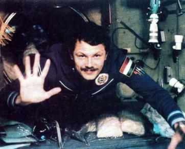 """Farkas Bertalan: """"Eddig csak a világűrből láttam Vajdaságot"""" - A cikkhez tartozó kép"""