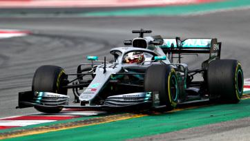 F1: Mindkét szabadedzést Hamilton nyerte Melbourne-ben - A cikkhez tartozó kép