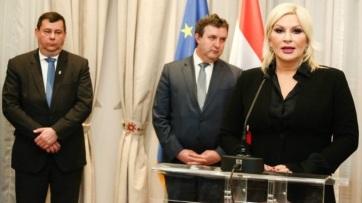 Közlekedési kérdésekről és a határátkelési gondokról tárgyalt Palkovics László és Zorana MihajlovićBelgrádban - A cikkhez tartozó kép
