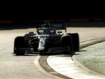 F1: Hamilton nyerte az időmérőt Melbourne-ben - A cikkhez tartozó kép