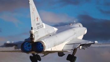 Moszkva Tu-22M3-as hadászati bombázókat vezényelt a Krímbe - illusztráció