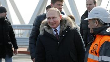 Putyin két hőerőművet avatott fel a Krímben a félsziget elcsatolásának 5. évfordulóján - illusztráció