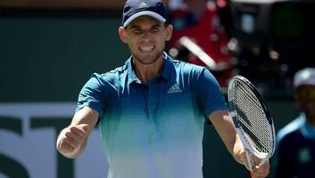 Tenisz: Thiem diadalmaskodott Indian Wellsben - illusztráció