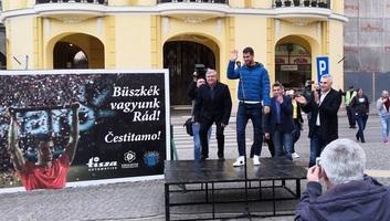 Zenta: Ünnepélyes fogadást tartottak Györe László tiszteletére - illusztráció