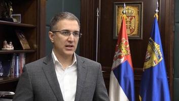 Stefanović az erőszaktól való tartózkodásra szólította fel a polgárokat - illusztráció