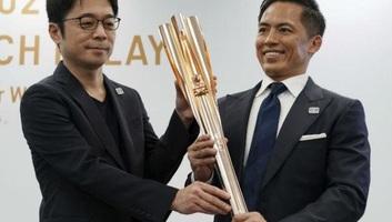 Tokió 2020: Bemutatták az olimpiai fáklyát - illusztráció