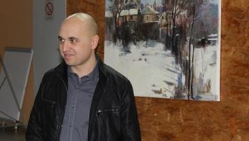 Kishegyes részletekben: Megnyílt Kormos Róbert festőművész kiállítása - illusztráció