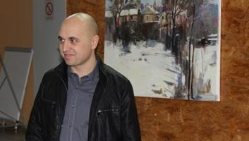 Mali Iđoš: Otvorena izložba slikara Roberta Kormoša - illusztráció