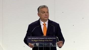 Orbán a Migrációs konferencián: Most kell cselekedni! - illusztráció