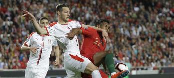 Labdarúgás: Szerbia döntetlent játszott Portugáliával - illusztráció