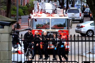 Felgyújtotta magát egy férfi a Fehér Ház előtt - A cikkhez tartozó kép