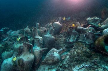 Víz alatti múzeumokká alakítják az egykoron elsüllyedt görög hajókat - A cikkhez tartozó kép
