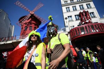 Francia zavargások: Párizsban békés felvonulások, Toulouse-ban összetűzések voltak - A cikkhez tartozó kép