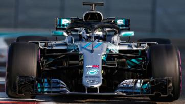 F1: Bottas nyerte az időmérőt Kínában - A cikkhez tartozó kép