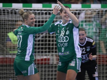 Női kézilabda BL: A Győr kettős győzelemmel jutott a legjobb négy közé - A cikkhez tartozó kép