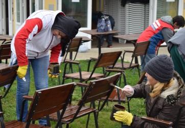 Pacsér: Föld-napi munkaakció a gyógyfürdőben - A cikkhez tartozó kép