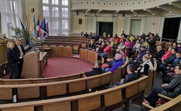Zentai és Arad megyei testnevelőtanárok tapasztalatcseréje - A cikkhez tartozó kép