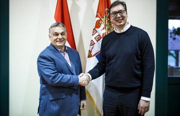 Napi fotó: Aleksandar Vučić, Szerbia elnöke...