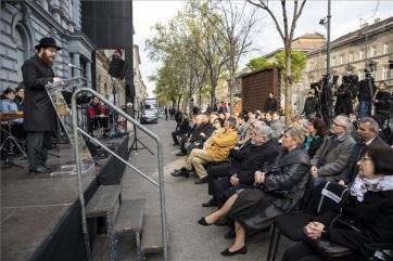 Kásler: A holokauszt a világtörténelem egyik legértelmetlenebb és legbrutálisabb pusztítása volt - A cikkhez tartozó kép