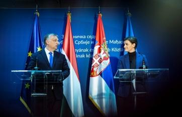 Napi fotó: Szerbia és Magyarország kapcsolatai...