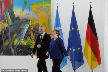 Merkel: Nagy siker az ENSZ migrációs csomagjának elfogadása - A cikkhez tartozó kép
