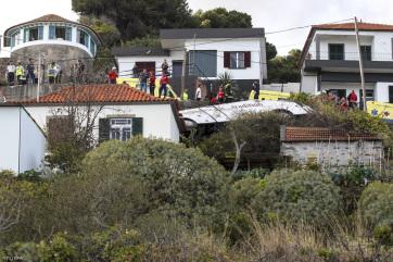Felborult egy német turistabusz Madeirán, legalább huszonnyolcan meghaltak - A cikkhez tartozó kép