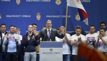 Megtartották Belgrádban az SNS nagygyűlését - illusztráció