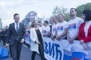 Szijjártó: Szerbia azért erősödött meg, mert vezetői figyeltek a nemzeti érdekekre - A cikkhez tartozó kép