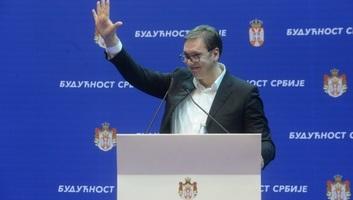 Vučić az SNS mai nagygyűlésére karneváli hangulatot ígér - illusztráció