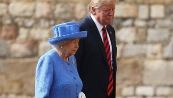 A királynő vendégeként Londonba látogat az amerikai elnök - illusztráció