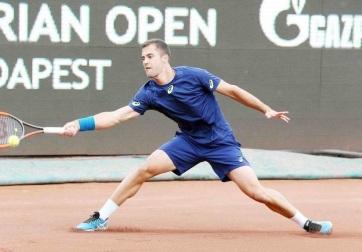 Tenisz: Györe továbbjutott Budapesten - A cikkhez tartozó kép
