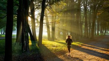 Nemcsak a testnek, a mentális egészségnek is jót tesz a séta és a futás - A cikkhez tartozó kép
