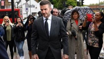 Hat hónapra eltiltották a vezetéstől David Beckhamet - A cikkhez tartozó kép