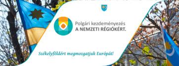 A Székely Nemzeti Tanács elindította a nemzeti régiók európai polgári kezdeményezés aláírásgyűjtését - A cikkhez tartozó kép