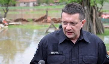 Marić: Készültségben a védelmi és mentési szolgálatok az előrejelzett esőzések miatt - A cikkhez tartozó kép