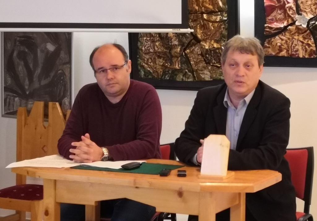 Hugyik Richárd és Perpauer Attila