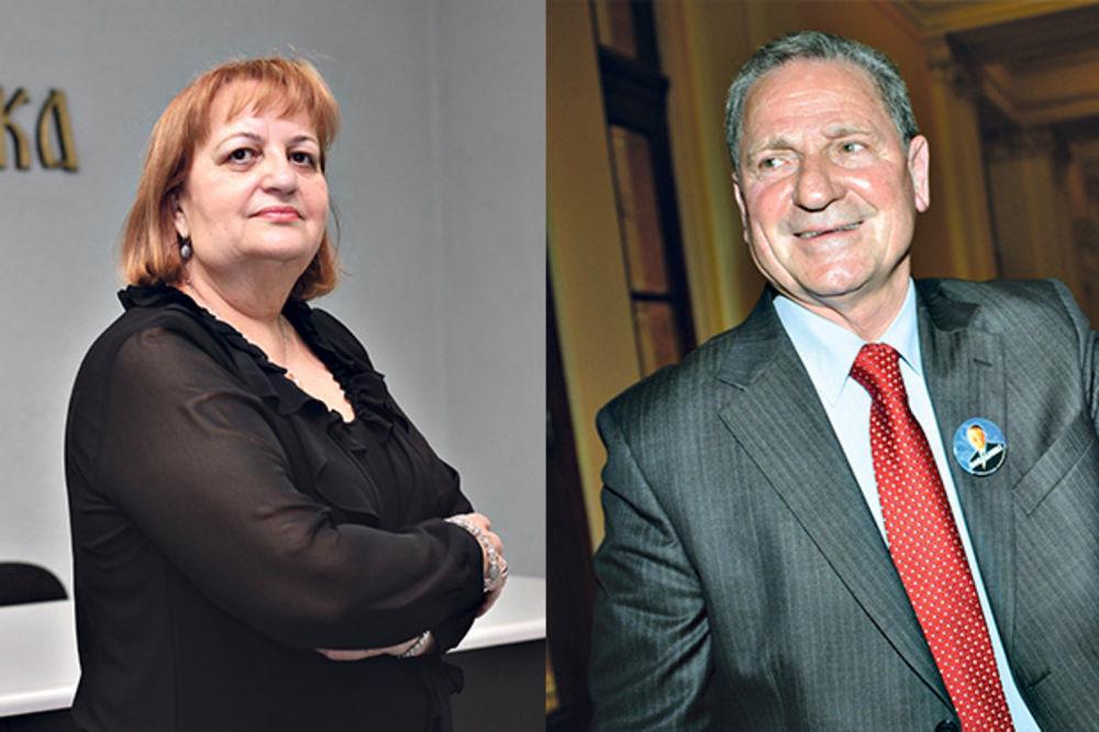 Vjerica Radeta és Petar Jojić