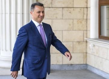 Severna Makedonija: Međunarodna poternica za Gruevskim - A cikkhez tartozó kép