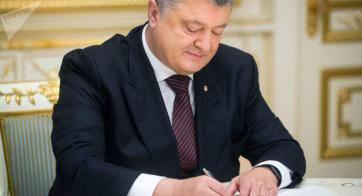 Porosenko aláírta a sokat vitatott ukrán nyelvtörvényt - A cikkhez tartozó kép