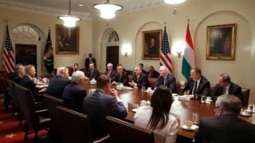 444: Trump azt mondta Orbánnak, úgy érzi, mintha ikrek volnának - A cikkhez tartozó kép