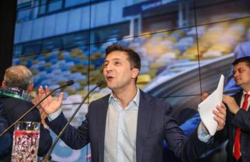 Ukrán elnökválasztás: Május 20-án iktatják be Zelenszkijt - A cikkhez tartozó kép