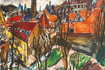Először kelt el százmillió forint felett magyar festőnő képe magyarországi aukción - A cikkhez tartozó kép